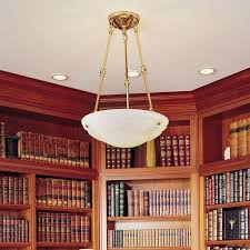 alabaster pendant light for library brass gallery lights lighting chandeliers