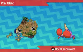 Crabrawler Evolution Chart Crabrawler Stats Moves Abilities Locations Pokemon