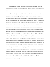 To Kill A Mockingbird Essay To Kill A Mockingbird Discrimination