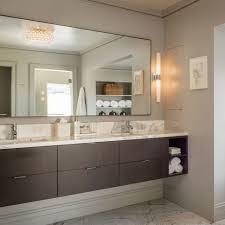 bathroom mirror chrome. Bathroom : Chrome Framed Mirrors Floating Vanity Rectangle Mirror Light Fixtures For Bathrooms Bath Bar Lighted Home T