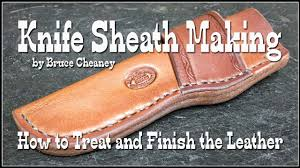 Knife Sheath Patterns Impressive Knife Sheath Making How To Make Leather Knife Sheaths