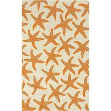 mount tyndall orange 8 ft x 10 ft indoor outdoor area rug
