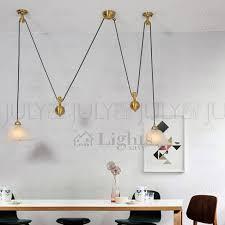 15 ideas of pull down pendant lighting