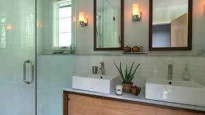mid century modern bathroom lighting attractive vanity with at regarding t45