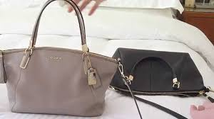 Coach Kelsey Satchel Bag in Grey Birch - bag twinsies! - YouTube