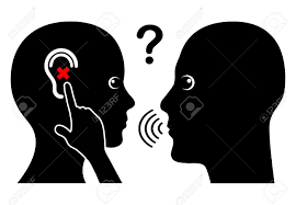 Hearing Impairment Woman With Hearing Loss Communication Problem With Hearing Impaired