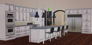 Sims Kitchen My Sims 3 Blog Carolina Kitchen Set By Marcussims91
