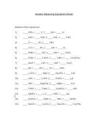 balancing chemical equations worksheet sample balancing equations 1392030