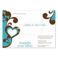 Free Bridal Shower Invitations Templates Impressive Blue Brown Bridal Shower Invitation Templates Elena Ocean Do It