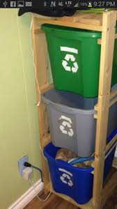 recycling bin storage. Simple Bin Recycle Bins  Good Idea To Keep Things Neat And Off The Floorfor  Garage To Recycling Bin Storage S