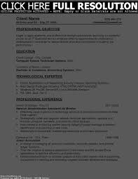 Accountant Resume Sample Accounting Objective Entry Sevte