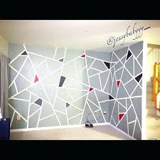 Best tape for walls Painting Ideas Wall Pinterest Geometric Wall Paint Geometric Walls Geometric Wall Design With