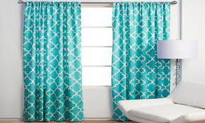 Teal Patterned Curtains New Turquoise Patterned Curtains Turquoise Quatrefoil Pattern Shower