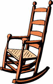 chair clipart. rocking chair read clipart