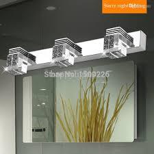 stainless steel bathroom fixtures. Best Stainless Steel Bathroom Light Fixtures Led Mirror 1 2 3 Plugs Ac 90 260