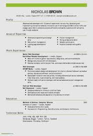 Elegant Hotel Job Resume Format Atclgrain
