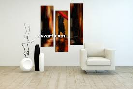 living room wall art 3 piece canvas wall decor abstract canvas art prints  on modern canvas wall art abstract with 3 piece modern red umbrella wall decor