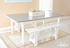 16 Diy Farmhouse Bench With Plans Tinsel Wheat