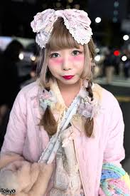 full article for this photo pretty pastel fashion in harajuku w plush bag care bears lace bows