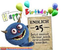 Sprüche Zum 25 Geburtstag Glückwünsche Zum 25 Geburtstagsprüche
