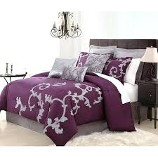 california king bed in a bag purple bed in a bag king purple grey bed bag california king bed