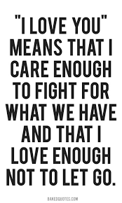 fight for what you love quotes