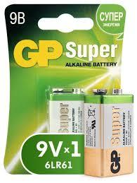 <b>Батарейка GP Super Alkaline</b> 9V Крона — купить по выгодной ...