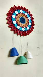 paper wall hanging ideas wall hanging craft idea wind chimes and walls newspaper wall hanging ideas