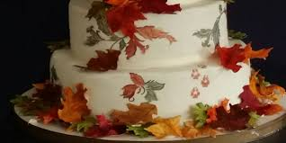 Beautiful Fall Wedding Cakes My Daughters Cakes