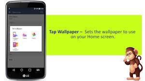 How To Set Home Screen Settings LG K10 Mobile