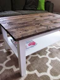 Old Coffee Table Makeovers Its A Long Story Coffee Table Makeover Wood Plank Top Plans Img