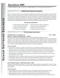 Sample Resume For Experienced Software Engineer