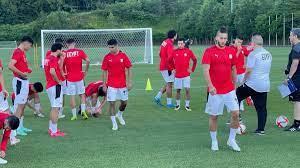 منتخب مصر الأولمبى يختتم تدريباته استعدادا لمواجهة إسبانيا