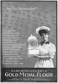Good Housekeeping Advertising Gold Medal Flour Ad 1907 From The October 1907 Issue Of Good