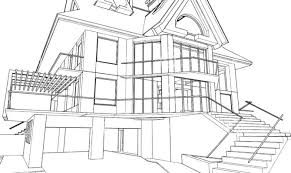 Stunning 35 Images Architectural Drawings For Houses Home Building