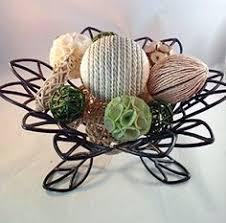 Decorative Bowl Filler Balls Decorative Spheres Aqua Rattan Vase Filler Blue Bowl Filler Rope 8