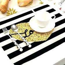 round table mat round table dining table set lovely 2 4 6 set cotton linen black round table mat