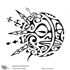 Tatuaggio Di Soleluna Dualismo Tattoo Custom Tattoo Designs On
