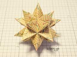 折り紙 くす玉 トゲトゲ