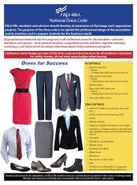 Fbla Pbl National Dress Code Fbla Pbl