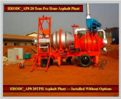 Asphalt Plants Mobile - Mobile Tarmac Mixing Plant - Batch-Mix ...
