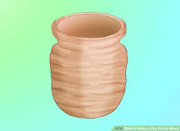 diy potters wheel image titled make a clay pot by wheel step diy potters wheel