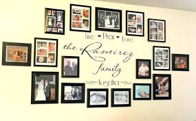 family wall decor ideas family wall decor ideas family picture frame wall ideas sensational design family