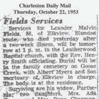 Leander Melvin Fields (1865–1953) • FamilySearch
