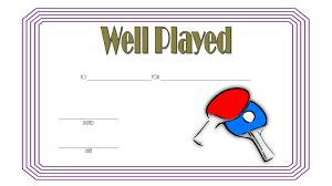 Teamwork Certificate Templates Well Played Certificate Templates Best 10 Templates