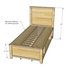 Memory Foam How To Build Twin Size Bed Best Twin Bed Frame Ideas On Wood Intended For Mattress Prepare Plans To Build Twin Size Bed How To Build Twin Size Bunk Beds 2017seasonsinfo How To Build Twin Size Bed Best Twin Bed Frame Ideas On Wood