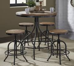 image of round pub table with 4 chairs with round pub table knowing about round