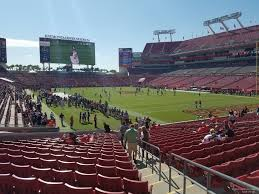 Raymond James Stadium Seating Chart Outback Bowl Raymond James Stadium Section 144 Tampa Bay Buccaneers