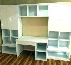 wall storage unit bedroom units mounted shelves with doors v