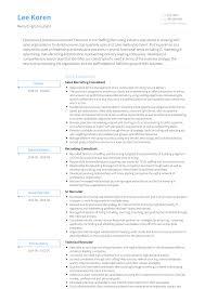 Recruitment Cv Recruiting Consultant Resume Samples And Templates Visualcv
